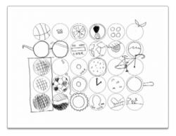 30-circles-doodled